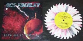 Frehley, Ace - Take Ne To The City Colored Vinyl Shaped 45