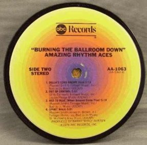 Amazing Rhythm Aces - Burning The Ballroom Down Coaster
