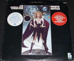 True, Andrea - White Witch Vinyl LP Promo