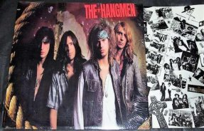 Hangmen - Self Titled The Hangmen Vinyl LP W/Lyrics
