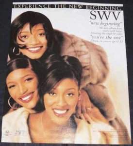 SWV - New Beginning Billboard Magazine Trade Ad 1996