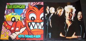 Hunger -Devil Thumbs A Ride 1996 Promo Poster