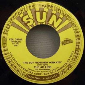 Ad Libs - Boy From NYC & Trade Winds - N.Y.'s A lonely Town 45