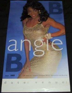 Angie B - 1991 Self Titled Angie B Promo Poster