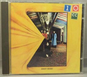 10CC - Sheet Music CD