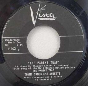 Sands, Tommy & Annette Funicello - Parent Trap / Let's Get..45