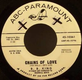 King, B.B. - Chains Of Love / Sneakin Around Vinyl 45 7 Promo