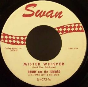Danny & The Juniors - Mister Whisper / Cha Cha Go Go Vinyl 45 7