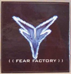 Fear Factory Promo Sticker