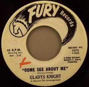 Knight, Gladys - Come See About Me / Want That Kind Of Love 45