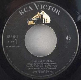 Cortez, Dave Baby - The Happy Organ 45 EP