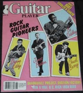 Guitar Player Magazine June 1984 Duane Eddy Bo Diddley C. Berry