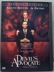 Devil's Advocate DVD Keanu Reeves, Al Pacino, Charlize Theron