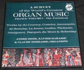 Various Artists - A Survey Of The Worlds Greatest Organ Music LP