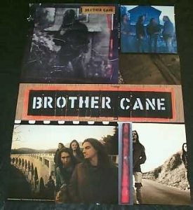 Brother Cane - Self Titled Promo Rock Poster