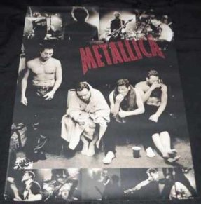 Metallica - Self Titled 1998 Metallica Promo Poster
