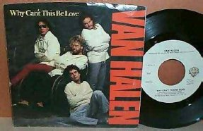 Van Halen - Why Can\'t This Be Love / Get Up Vinyl 45 7 W/PS
