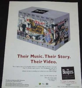 Beatles - Anthology Trade Ad 1996