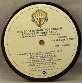 Bootsy's Rubber Band - This Boot Is Made For Fonk-N Coaster