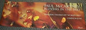 McCartney, Paul - Flowers In The Dirt Promo Rock Poster