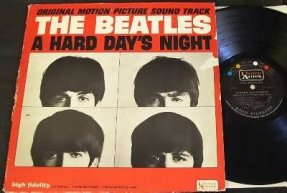 Beatles - A Hard Days Night Vinyl LP I Cry Instead