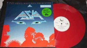 Asia - Smile Has Left Your Eyes Colored Vinyl 12