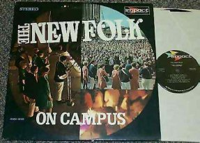New Folk - On Campus Vinyl LP