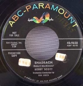 Scott, Bobby - Chain Gang - Shadrach Vinyl 45 7
