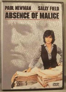Absence Of Malice DVD Paul Newman,Sally Field