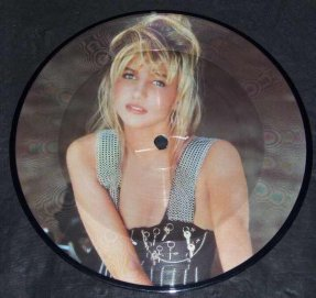 Gibson, Debbie - Anything Is Possible U.K. Vinyl 45 Pic Disc