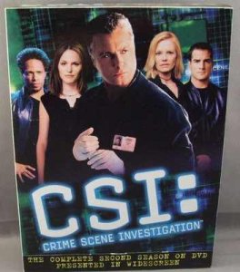 CSI Crime Scene Investigation Complete Second Season DVD Box Set