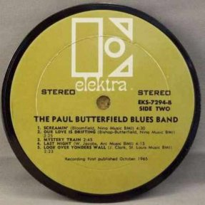 Butterfield, Paul Blues Band Coaster
