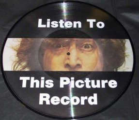 Lennon, John - Listen To This Picture Record Vinyl LP Pic Disc