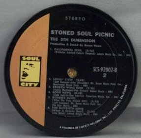 5th Dimension - Stoned Soul Picnic Coaster