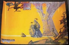 Yes - Yes Years Double Sided 1991 Promo Poster