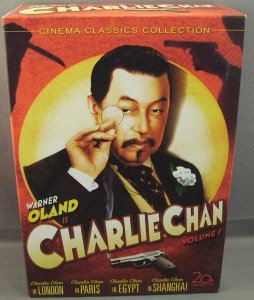 Charlie Chan Collection Volume 1 DVD Box Set