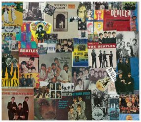 Beatles 8 X 10 Collage 1A