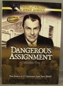Dangerous Assignment Collection Two DVD Box Set Brian Donlevy