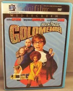 Austin Powers Goldmember DVD Infinifilm