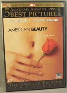 American Beauty DVD Annette Bening Kevin Spacey