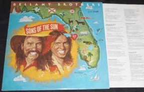 Bellamy Brothers - Sons Of The Sun Vinyl LP W/Lyrics