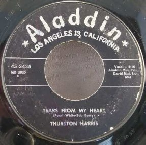 Harris, Thurston - Tears From My Heart / Smokey Joe\'s Vinyl 45