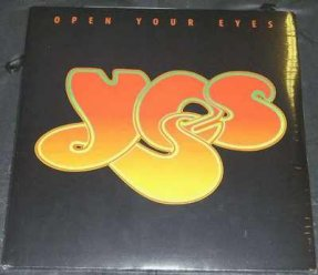 Yes - Open Your Eyes Vinyl LP New