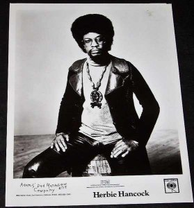 Hancock, Herbie - 8 X 10 Promo Photo