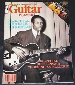 Guitar Player Magazine March 1982 Charlie Christian