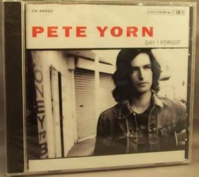 Yorn, Pete - Day I Forgot CD