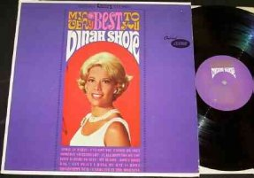 Shore, Dinah - My Very Best To You Vinyl LP