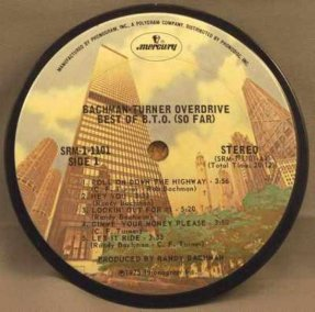 Bachman Turner Overdrive - Best Of B.T.O. Coaster