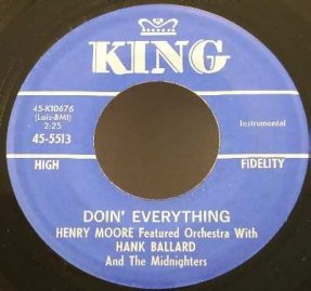 Ballard, Hank - Doin' Everything / Big Frog Vinyl 45 7
