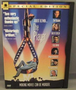 The Player DVD Special Edition Robert Altman, Tim Robbins